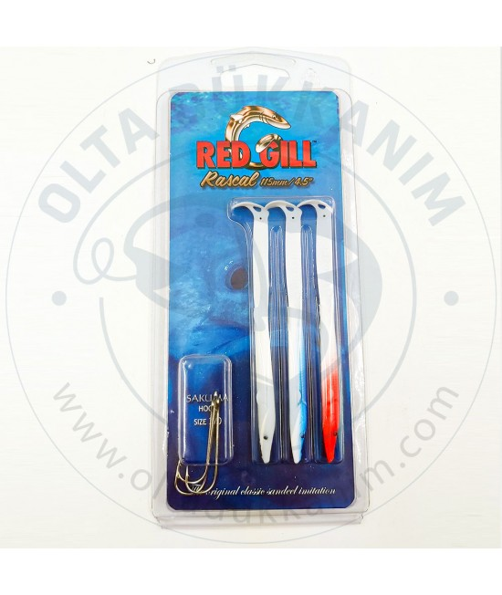 Red Gill White Mix 115mm